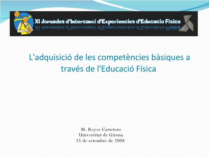 Competencies I Ed. FíSica