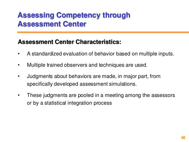 self assessment of hr competencies