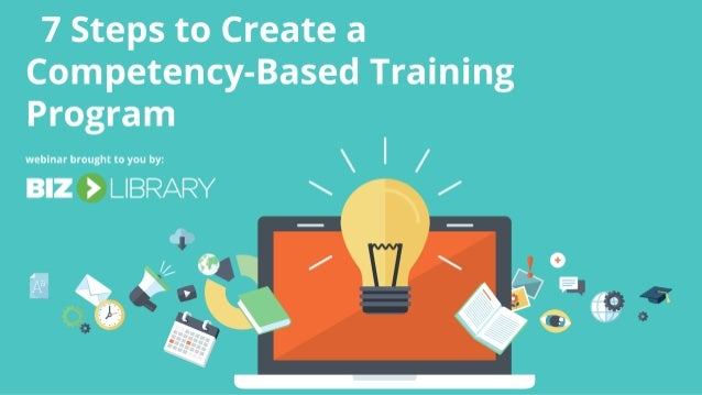 how to create a competency model