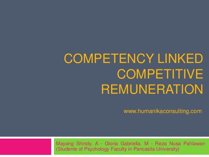 COMPETENCY LINKED         COMPETITIVE       REMUNERATION                          www.humanikaconsulting.comMayang Shindy....
