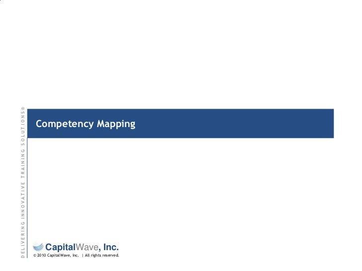 Competency Mapping<br />