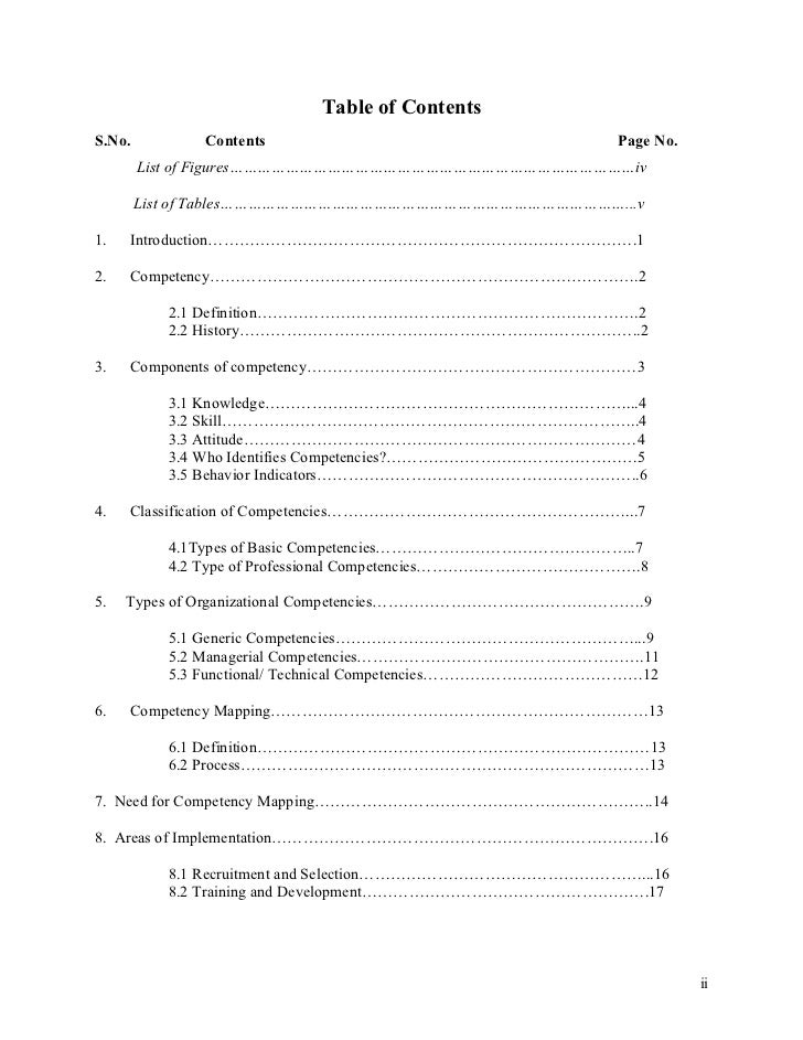 Table of Contents S.No.          Contents                                     Page No.         List of Figures………………………………...