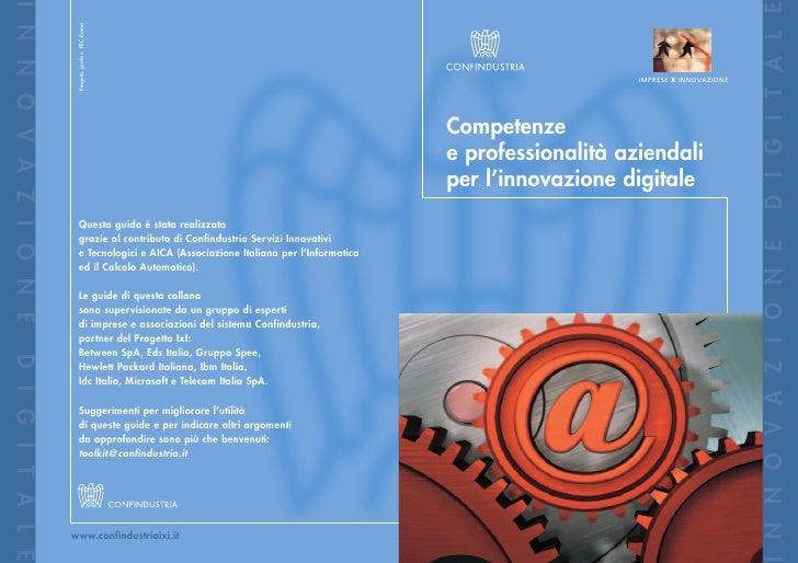 Competenze e professionalità aziendali per l'innovazione digitale