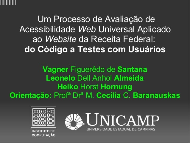 IHC 2010 - Competição de avaliação