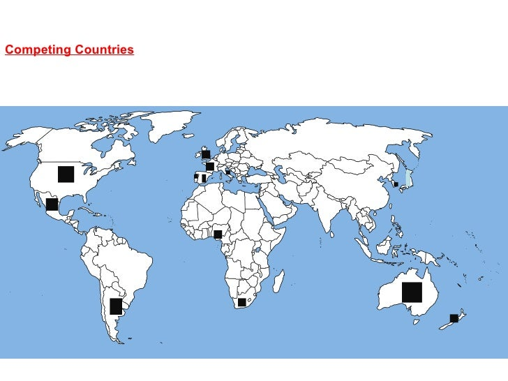 Competing countries (flora)