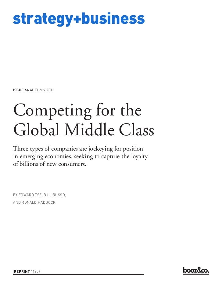Competing for the global middle class