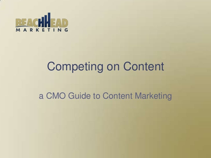 Competing on content-How Content Increases Website Traffic