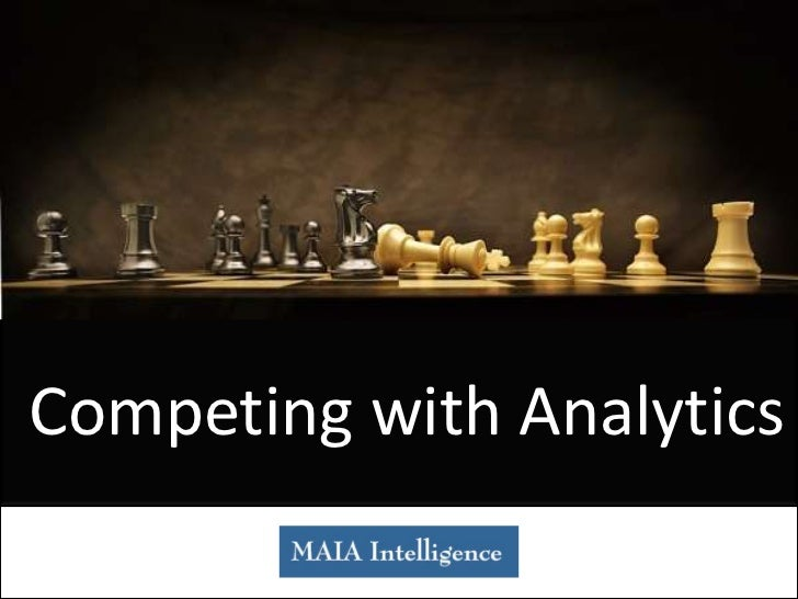 Competing with Analytics