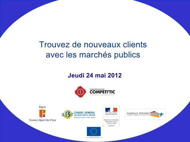 Competitic - Trouvez de nouveaux clients avec les marchés publics - numerique en entreprise