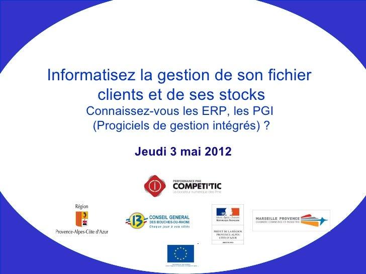 Competitic   informatisez gestion fichier clients et stocks - numerique en entreprise