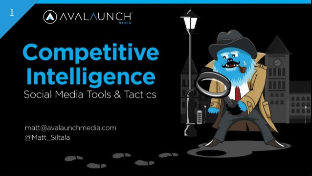 Competitive Intelligence using Social Media