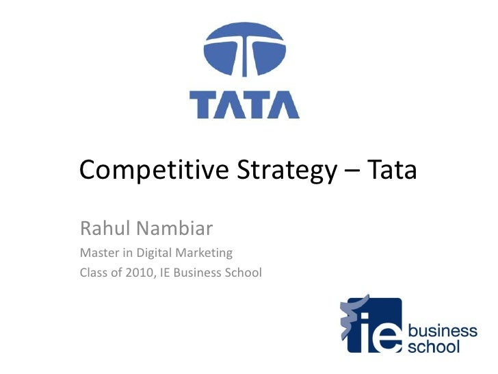 tata nano pricing strategy The tata nano: the people's car (a) of different price and cost scenarios has tata chosen the right marketing strategy does the nano represent an evolution.