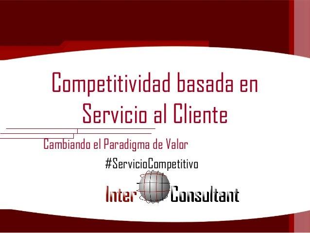 Competitividad basada en Servicio