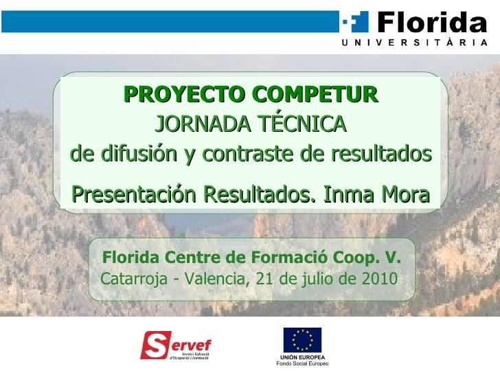 Presentación de Resultados (Jornada Competur)