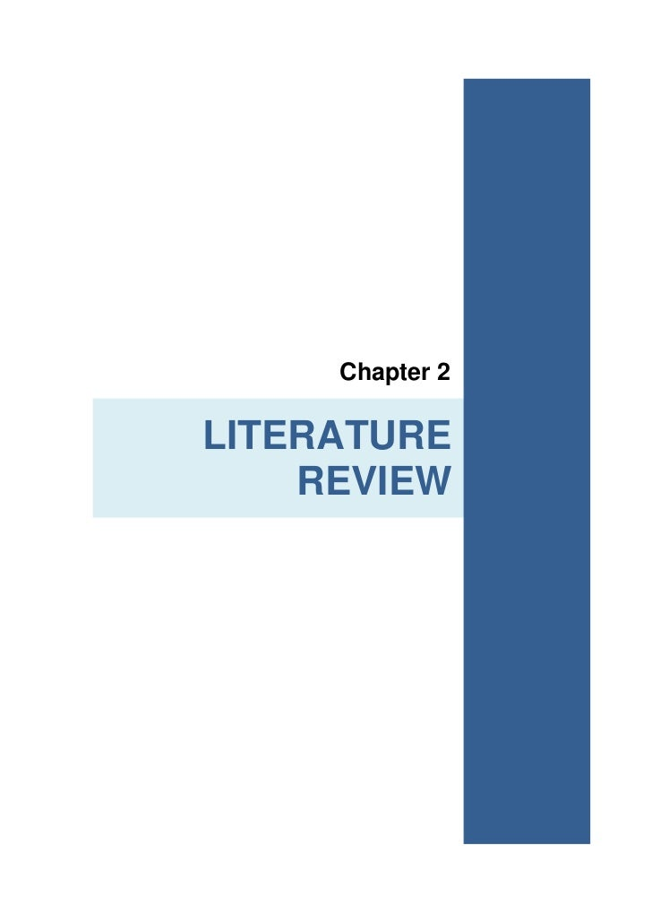 Critical review of literature dissertation