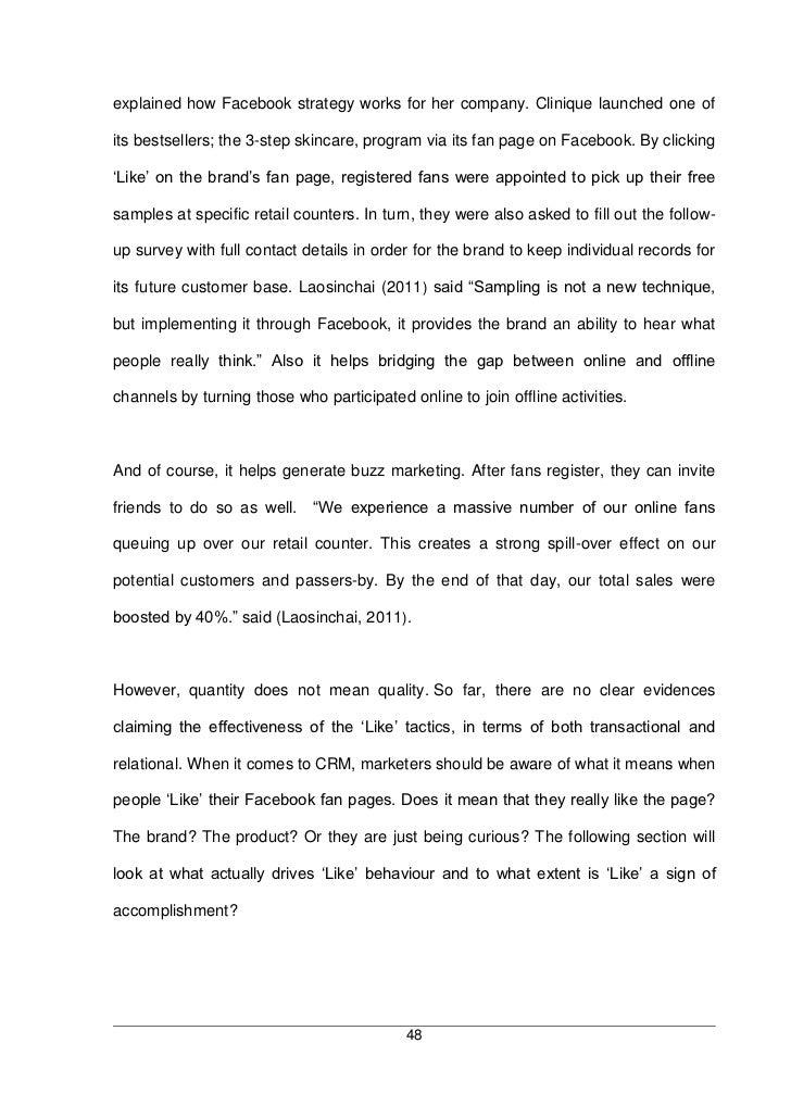 Dissertation Report On Brand Loyalty