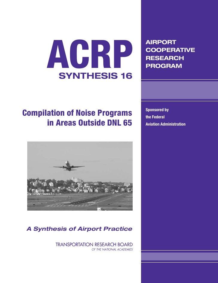 ACRP                                   AIRPORT                                   COOPERATIVE                              ...