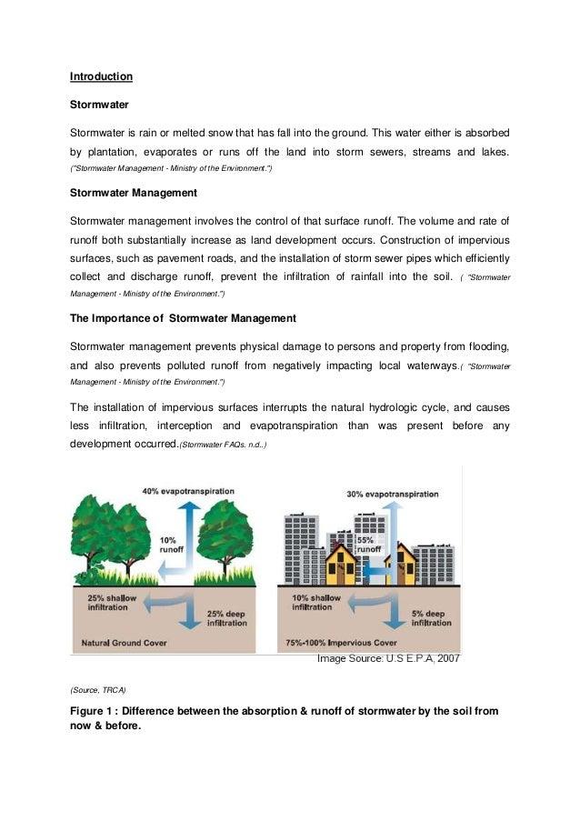 BS Stormwater management assignment