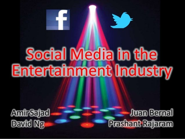 MKTG 6226 - Social Media Marketing and the Entertainment Industry