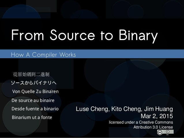 Compiler binary linux