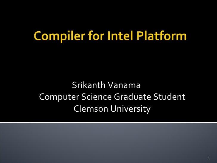 Compiler_Project_Srikanth_Vanama