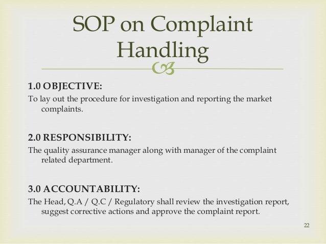 Hkma Complaint Handling Procedure