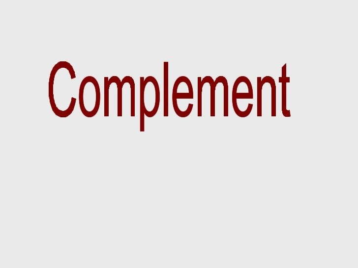 Complement06