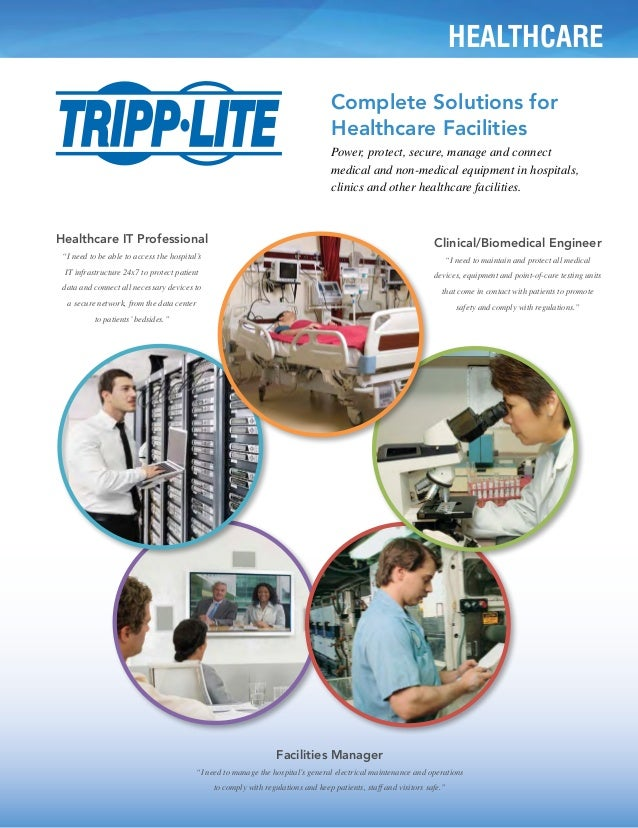 Complete Solutions for Healthcare Facilities from Tripp Lite