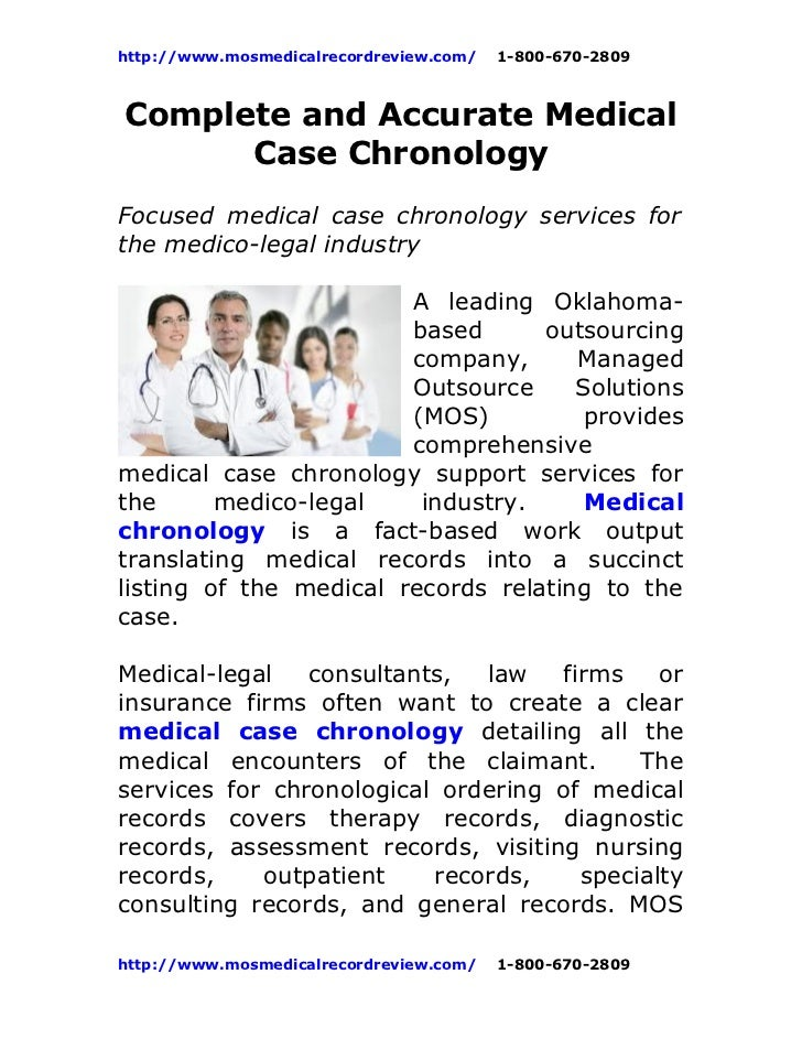 Complete and accurate_medical_case_chronology