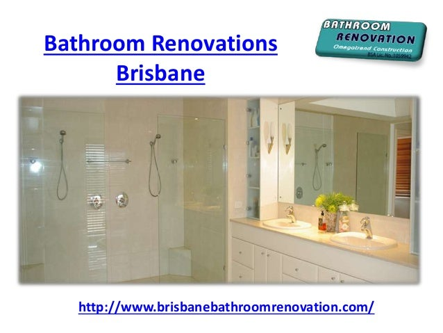 Complete bathroom renovations brisbane for Complete bathroom renovations
