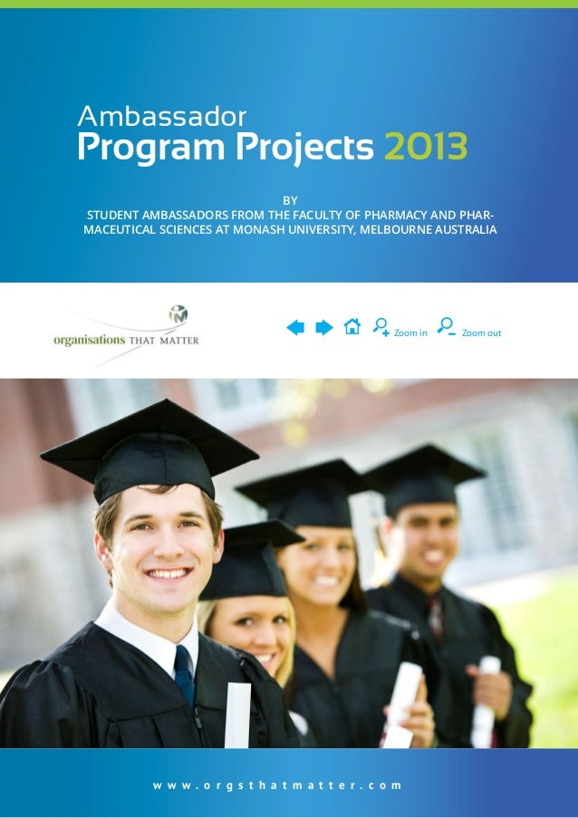 Ambassador Projects 2013 - Student Development in ACTION!