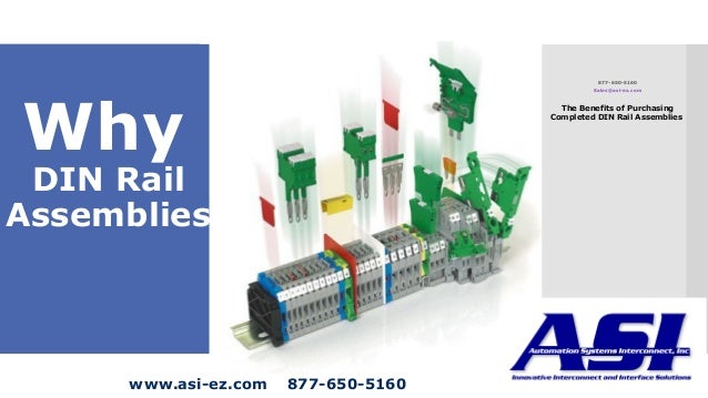 Why Complete DIN Rail Assemblies