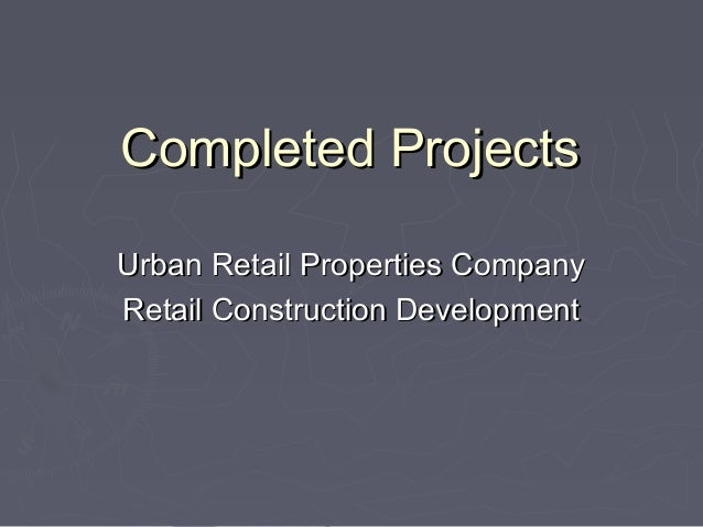 Completed Projects Urban Retail- The Galleria
