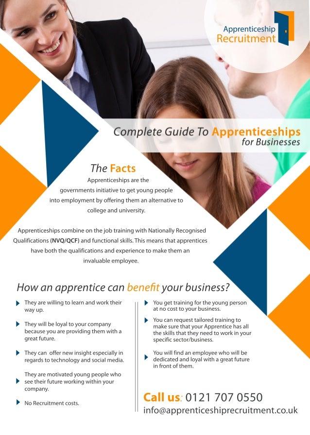 Howanapprenticecanbenefityourbusiness? Callus:01217070550 info@apprenticeshiprecruitment.co.uk Theyarewillingtolearnandwork...