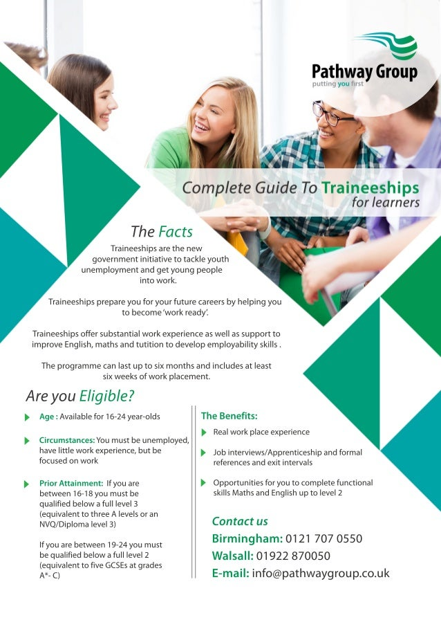 Complete Guide to Traineeships for Learners
