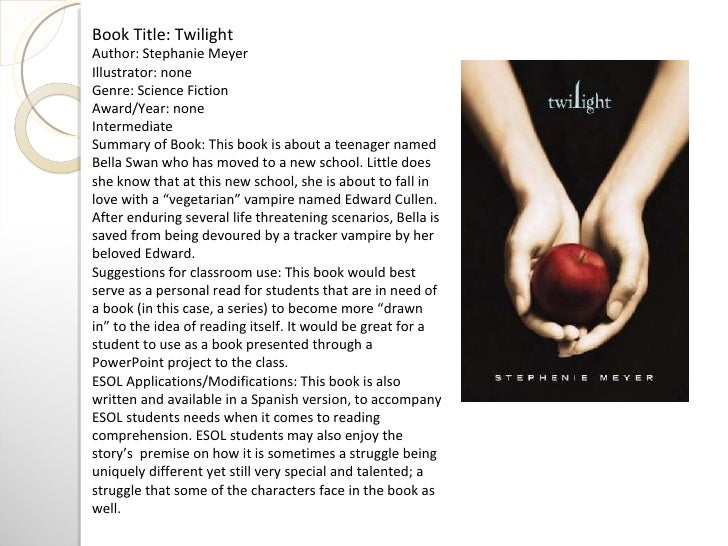 twilight saga new moon book report Need to report the video sign in to report inappropriate content sign in add translations in the twilight saga: new moon, bella swan.