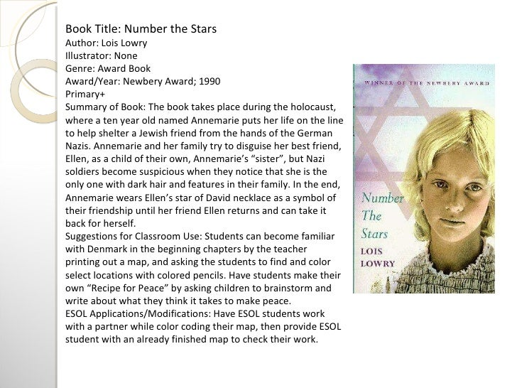 Number The Stars Book ...