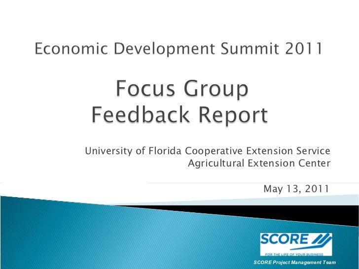 Flagler County Economic Development Summit Presentation