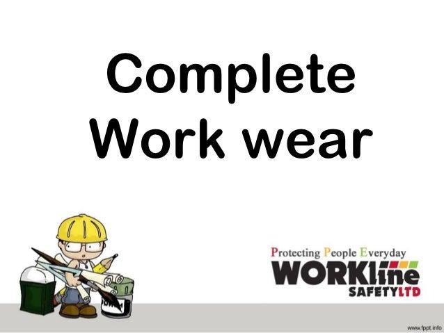 CompleteWork wear