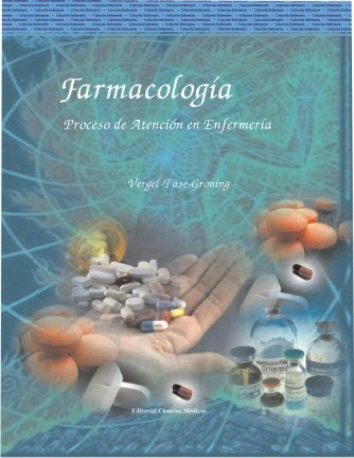 farmacologia y proceso de atencion de enfermeria