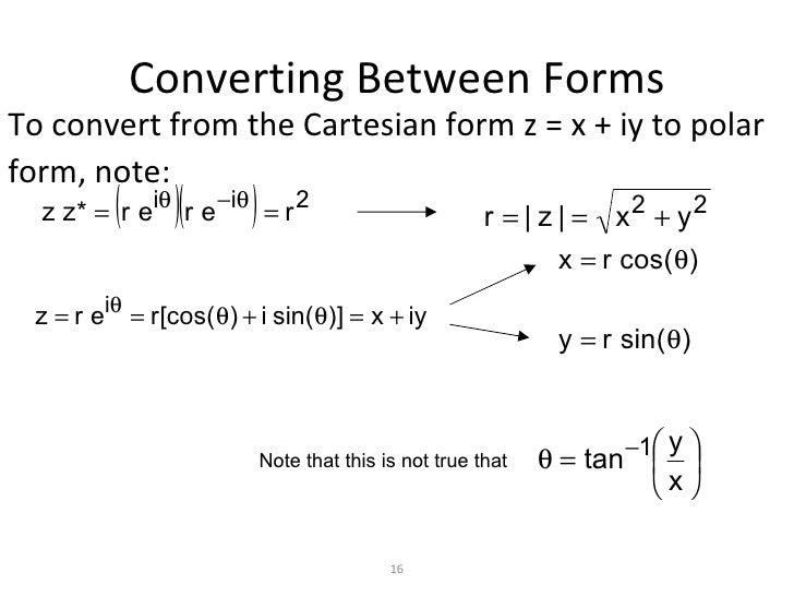 Rectangular Form Of A Complex Number Rectangular Form Rectangular ...