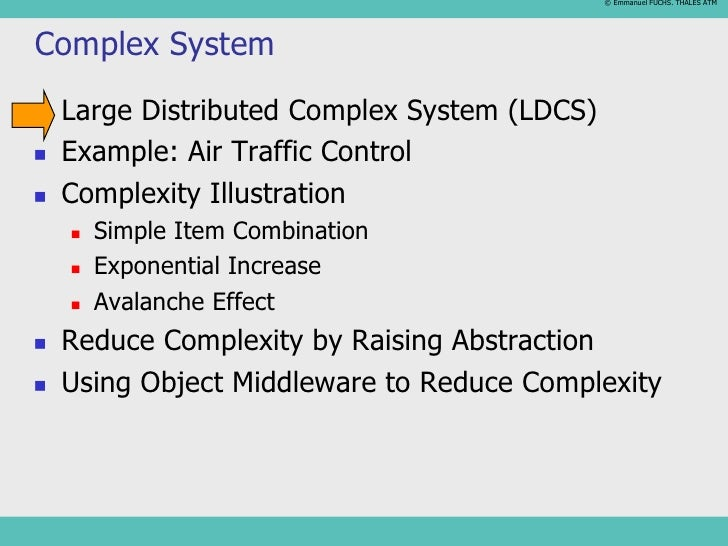 Complex Systems1