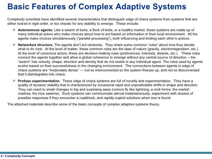 systems breakdown essay