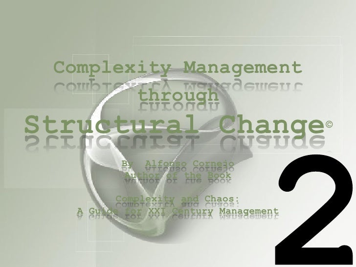Complexity and Structural Change 2