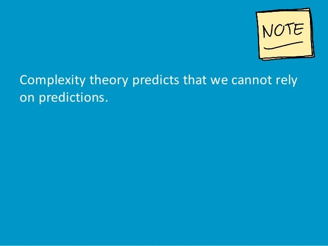 Complexity theory predicts that we cannot rely on predictions.