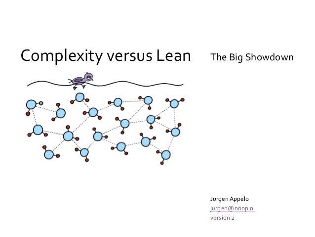 Complexity versus Lean