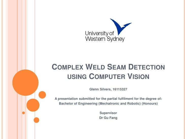 Complex Weld Seam Detection Using Computer Vision Linked In