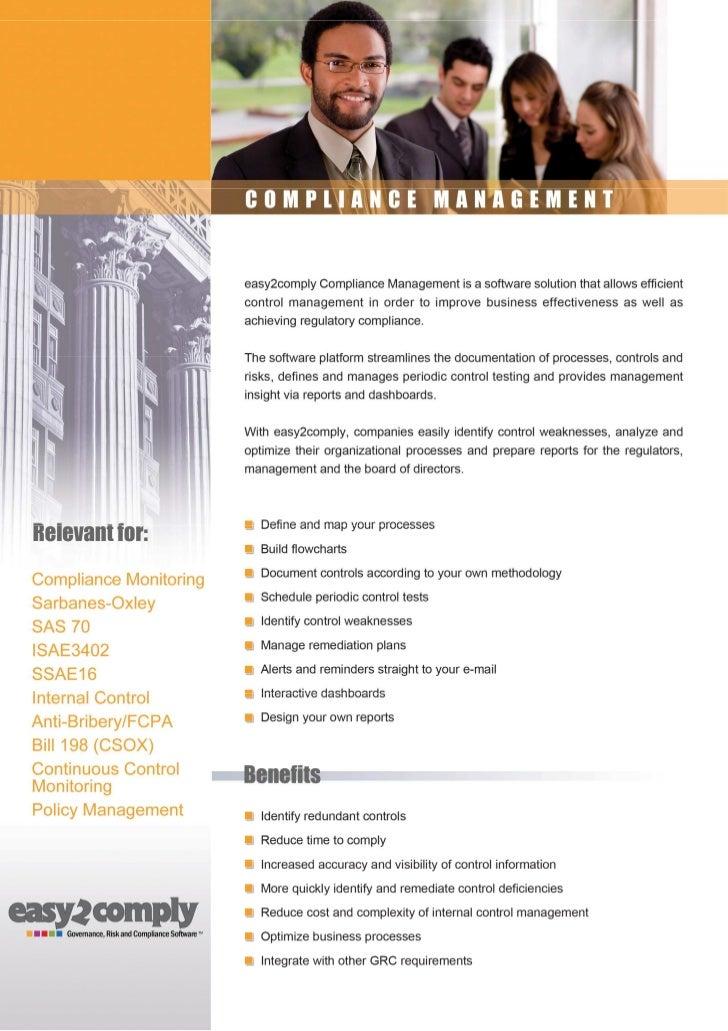 Compliance Management Software