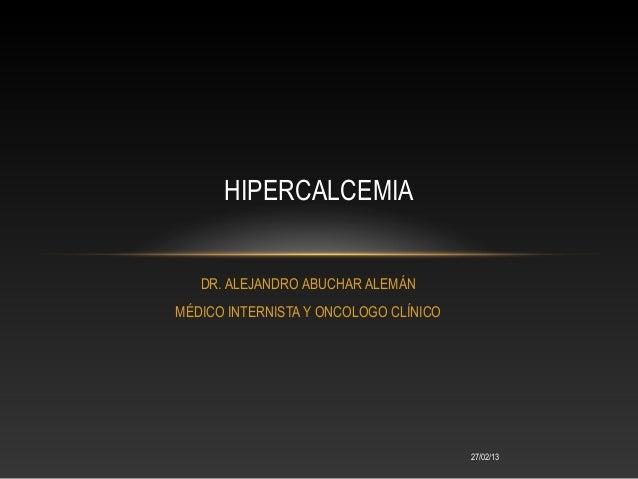 Complicaciones oncologicas dr abuchar 111
