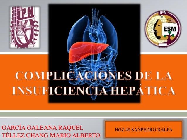 Complicasiones de la insuficiencia hepatica